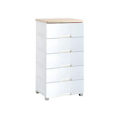 Wayho 5-Tier Wooden Top Cabinet - Image 2