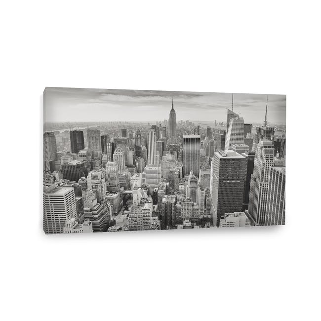 Cityscape Art Print on Stretched Canvas 90cm by 50cm - New York - 1