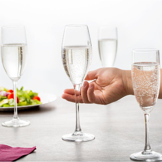Chef & Sommelier Grands Cépages Champagne Flute 24cl - Set of 6 - 1