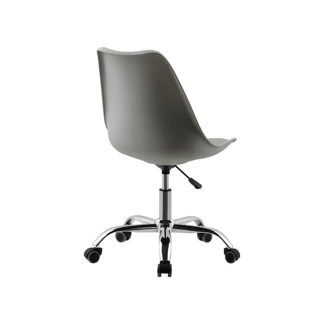 Linnett Mid Back Office Chair - Grey - 3