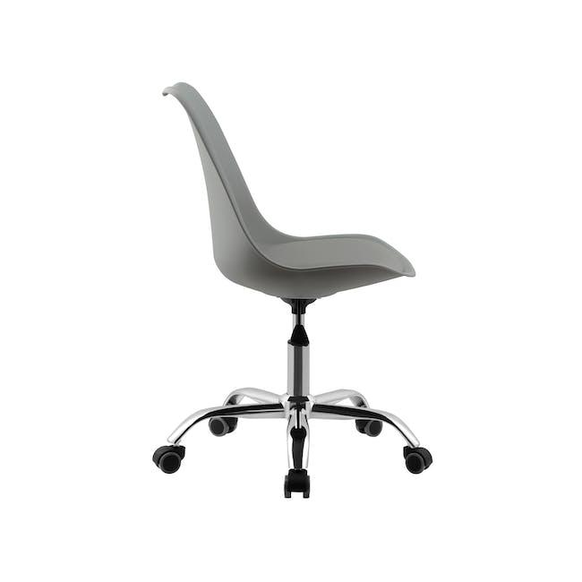 Linnett Mid Back Office Chair - Grey - 2