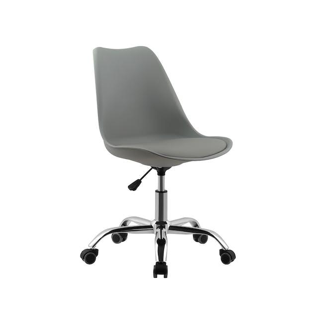 Linnett Mid Back Office Chair - Grey - 0
