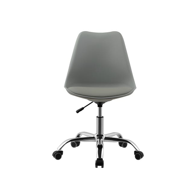 Linnett Mid Back Office Chair - Grey - 1
