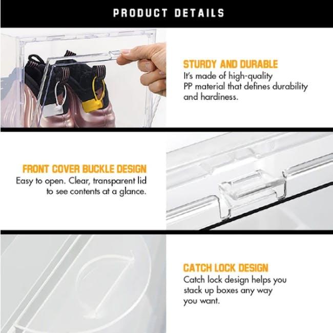 SoleMate Drop Lid Shoe Box High-Cut - 2