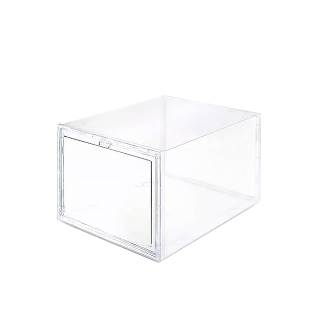 SoleMate Drop Lid Shoe Box High-Cut - 0
