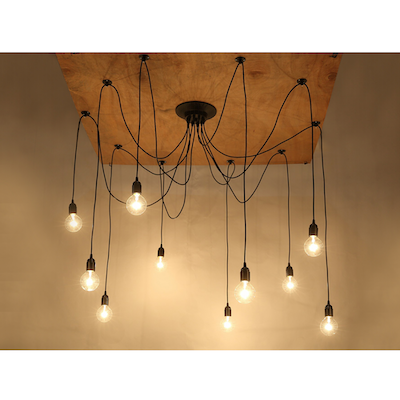 Buy ceiling pendant lamps online in singapore hipvan coraline hanging pendant lights image 2 aloadofball Choice Image