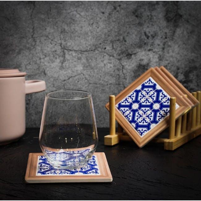 Peranakan Ceramic Cup Coaster - Kairi - 1