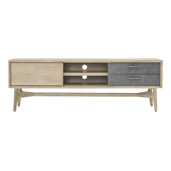 HipVan Bundles - Hendrix TV Console 1.65m with Hendrix Rectangular Coffee Table