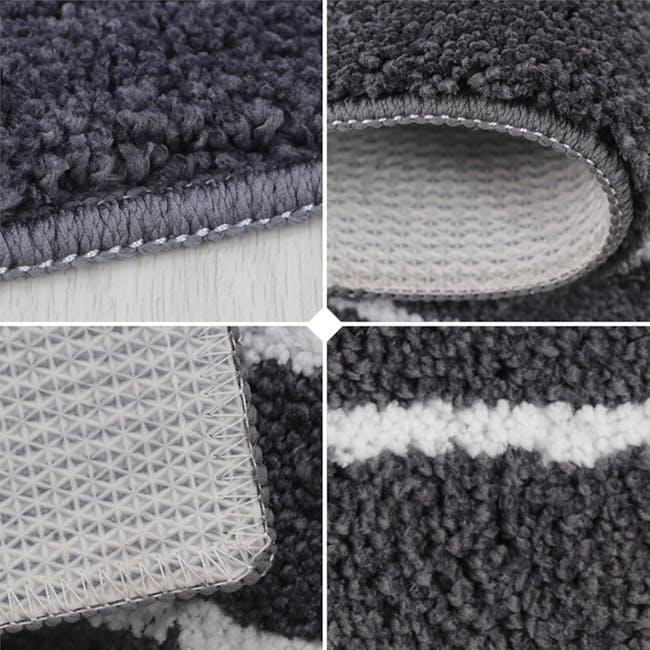 Mason Floor Mat - Chalk Stripes - 2