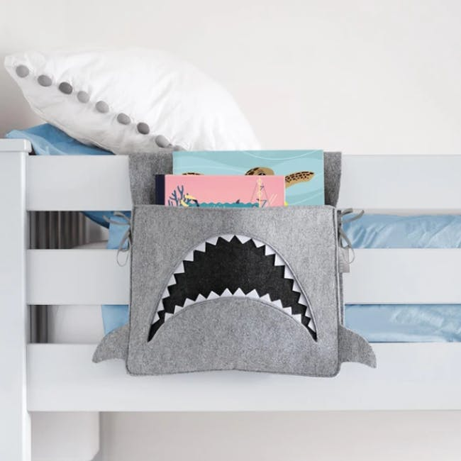 Little Stackers Bed Pocket - Mark Shark - 1