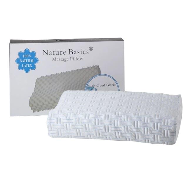 Nature Basics 100% Natural Latex Massage Pillow - 1