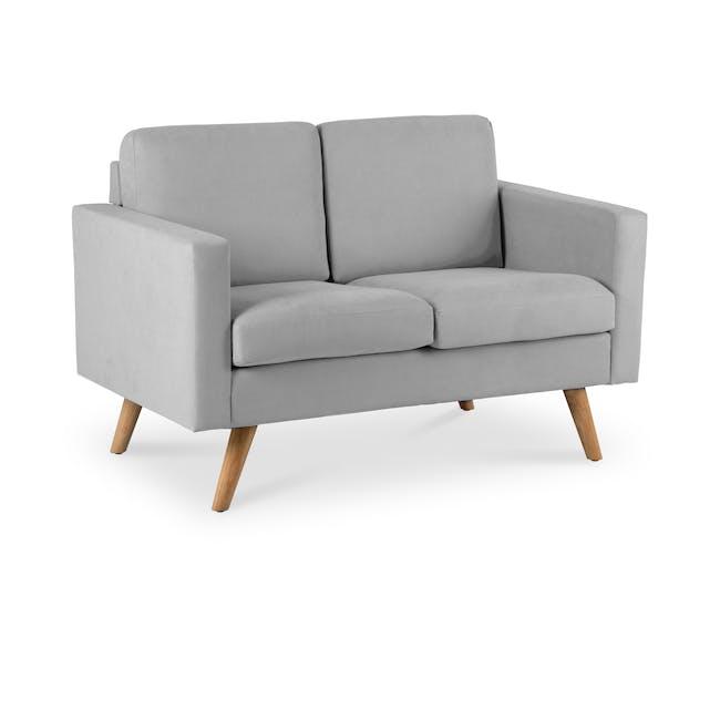 Helen 2 Seater Sofa - Silver Fox - 1