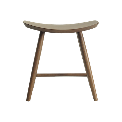 Philana Stool - White Lacquered - Image 2