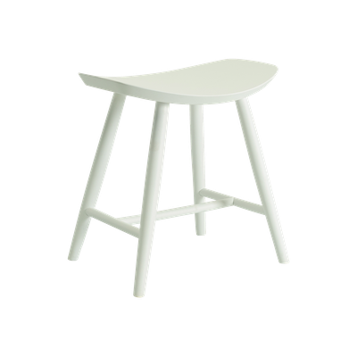 Philana Stool - White Lacquered - Image 1