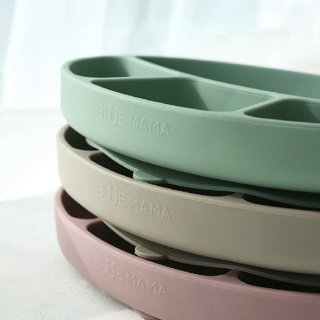 MODU'I Silicone Suction Plates - Green Bean - 1