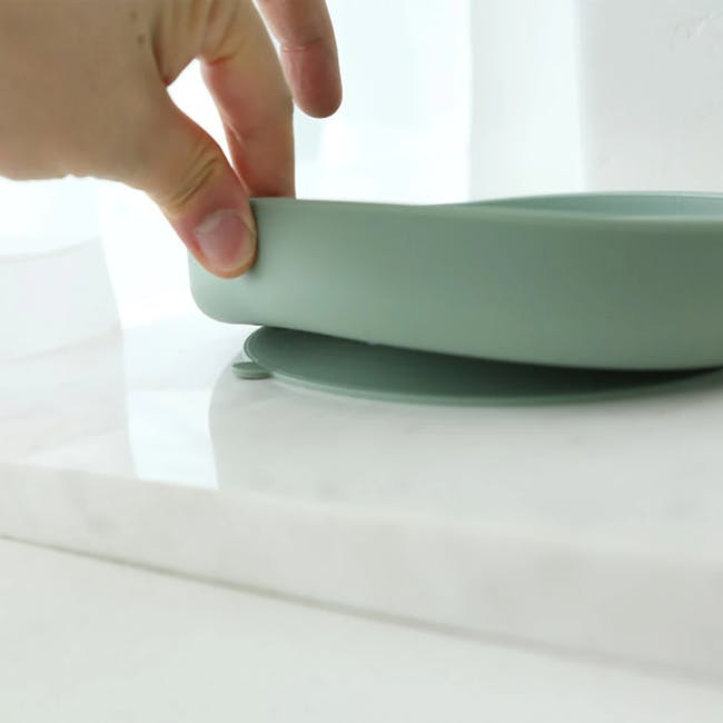 MODU'I Silicone Suction Plates - Green Bean - 7