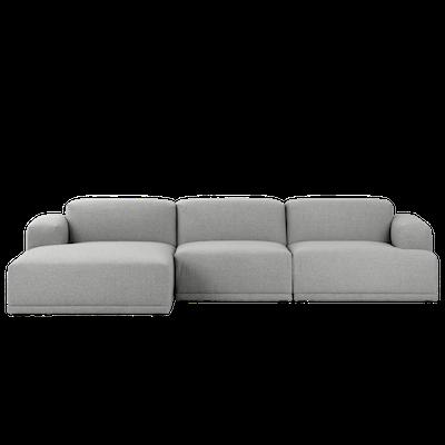Flex 4 Seater L Shape Sofa - Squirrel Grey - Image 1