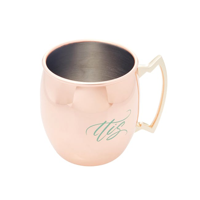 His & Hers Copper Mug Set - 2