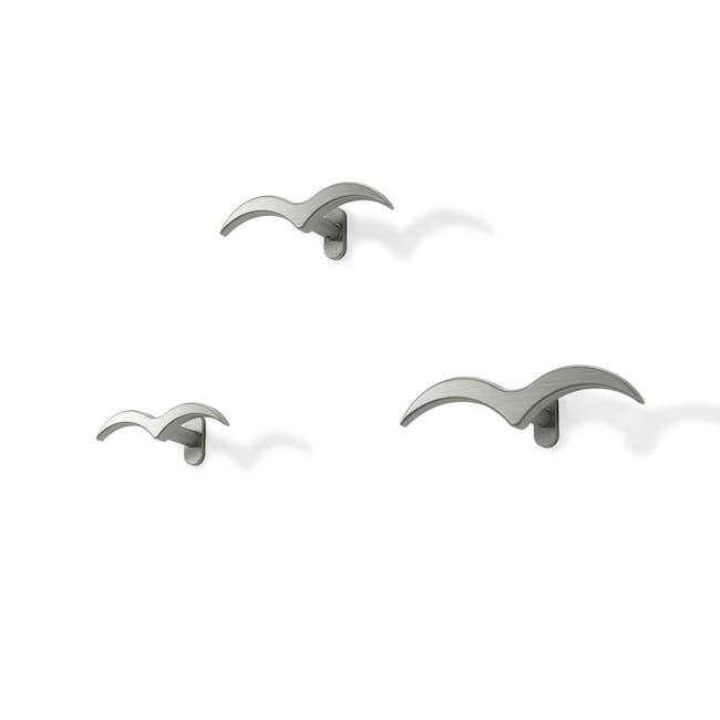 Alouette Wall Hook - Chrome (Set of 3) - 1