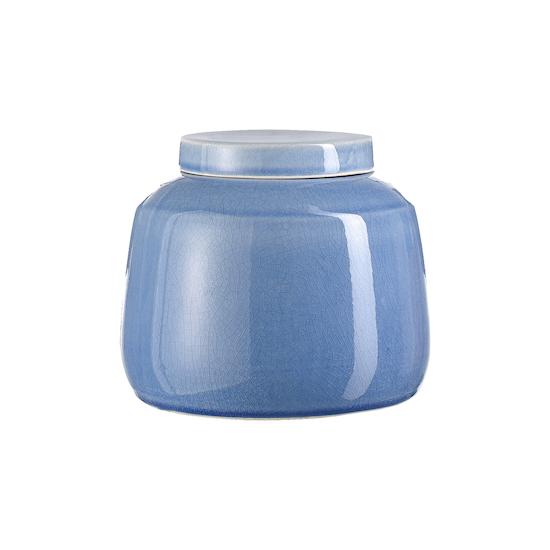 Laholm - Nora Jar with Lid - Blue