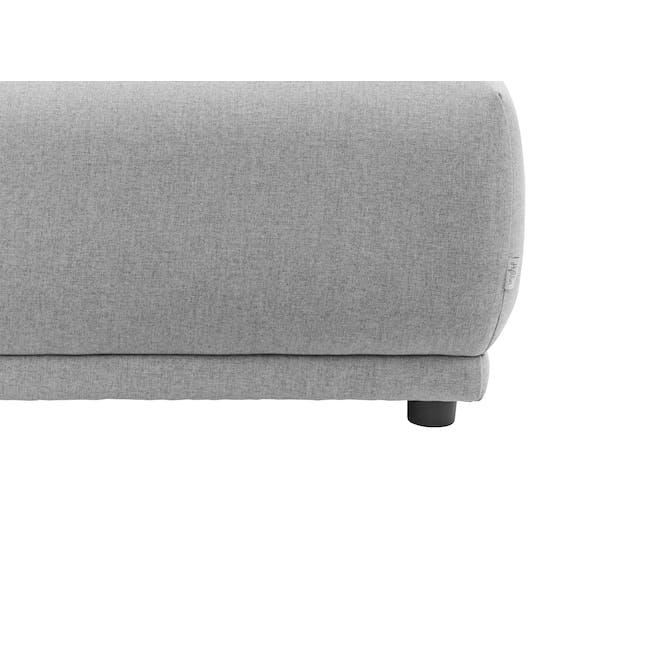 Milan Ottoman - Slate (Fabric) - 5