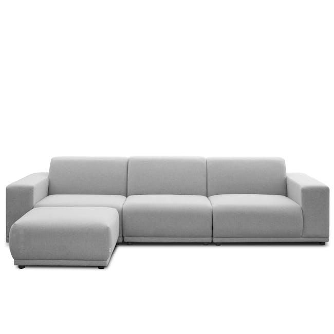 Milan Ottoman - Slate (Fabric) - 4