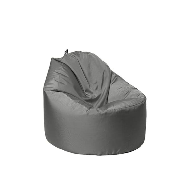 Oomph Mini Spill-Proof Bean Bag - Ash Grey - 0
