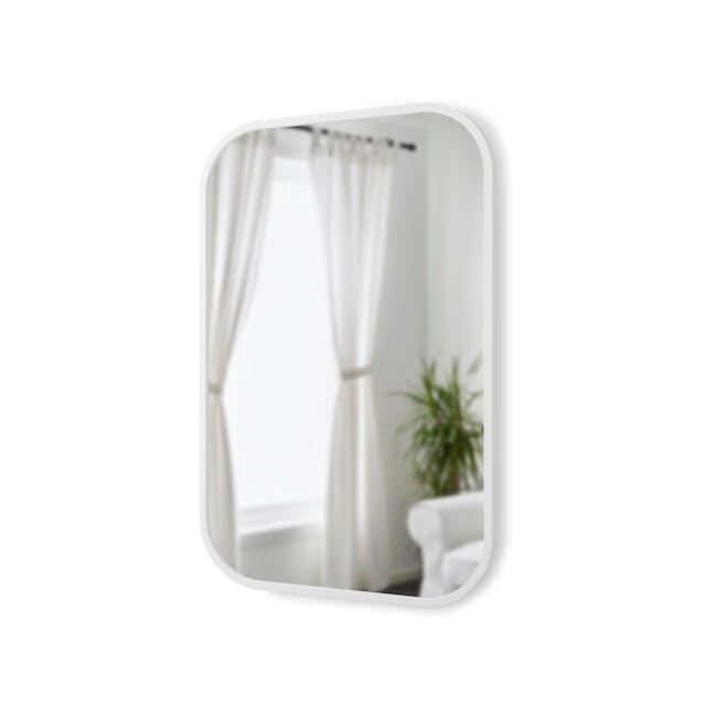 Hub Rectangle Mirror 61 x 91 cm - White - 2
