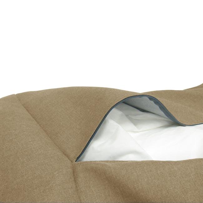 Daisy Bean Bag - Light Brown - 3