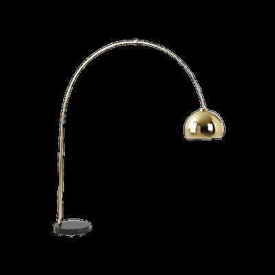 Olivia Floor Lamp - Brass - Image 2