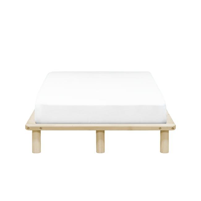 Hiro Super Single Platform Bed - 0