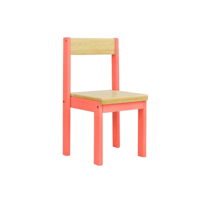 Layla Chair - Coral - Image 1