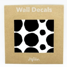 Polka Dot Wall Decal Pack (Pack of 54) - Black