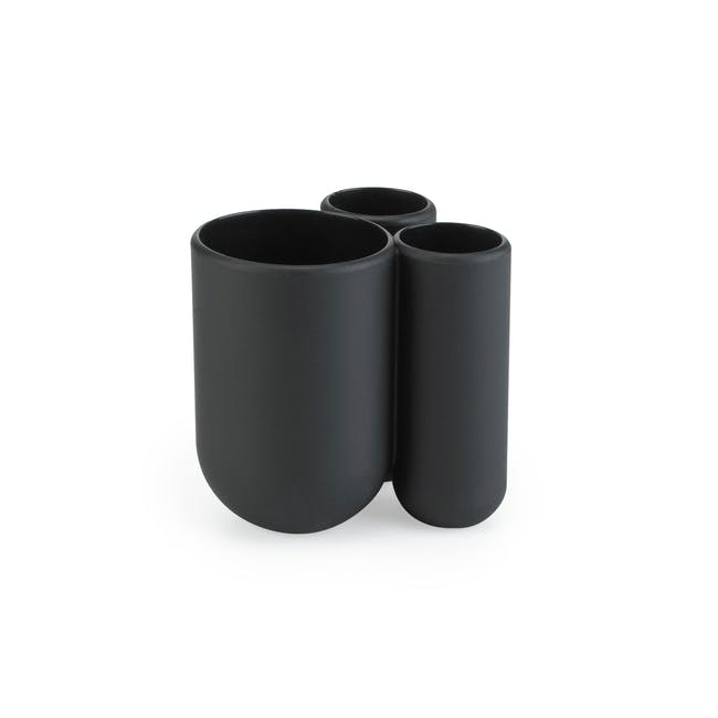 Touch Toothbrush Holder - Black - 0