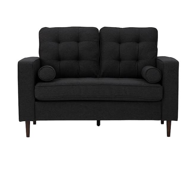 Royce 2 Seater Sofa -  Seal (Fabric) - 0
