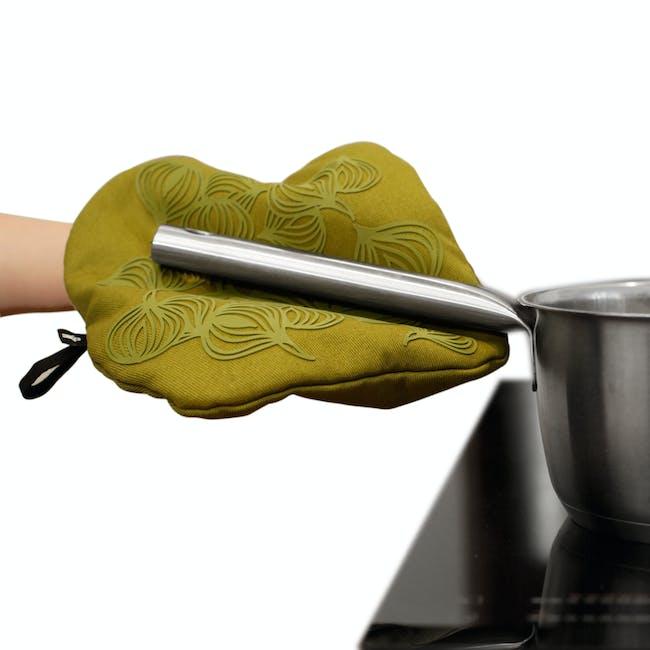 Bosign 3-IN-1 Potholder & Trivet Non Slip - Olive Green - 1