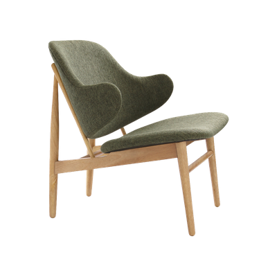 Veronic Lounge Chair - Forrest, Oak - Image 1
