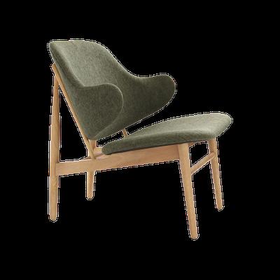 Veronic Lounge Chair - Forrest, Oak - Image 1