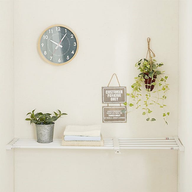 HEIAN Full Extension Shelf - White - 3