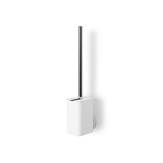 Flex Gel-Lock Toilet Brush Holder - White - 1