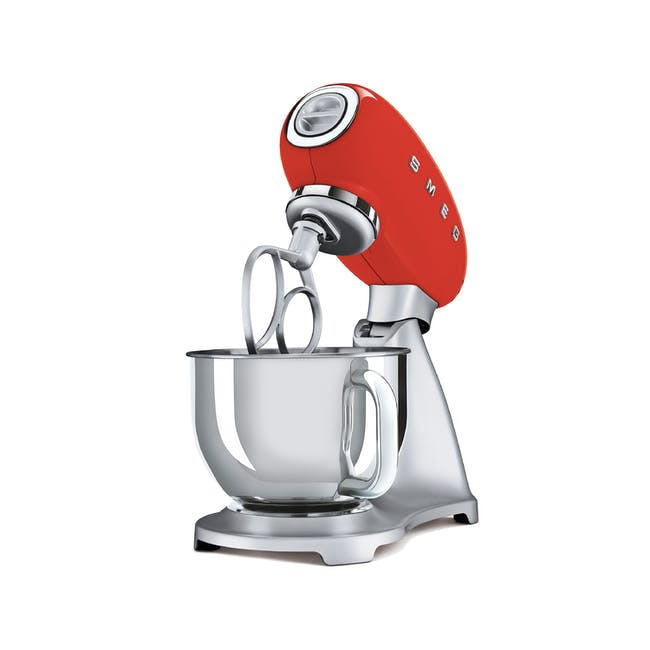 Smeg Stand Mixer - Red - 1