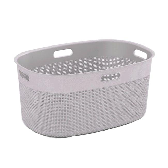 Filo Laundry Basket - Desert Rose - 0