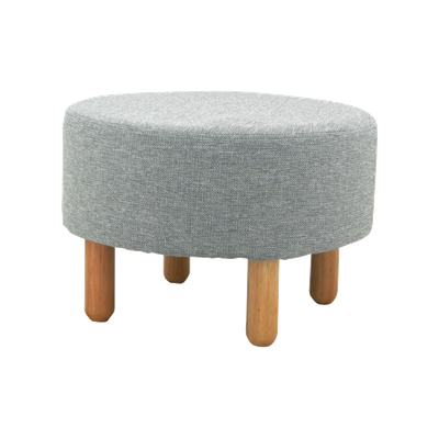Millie Stool - Natural, Squirrel Grey - Image 1