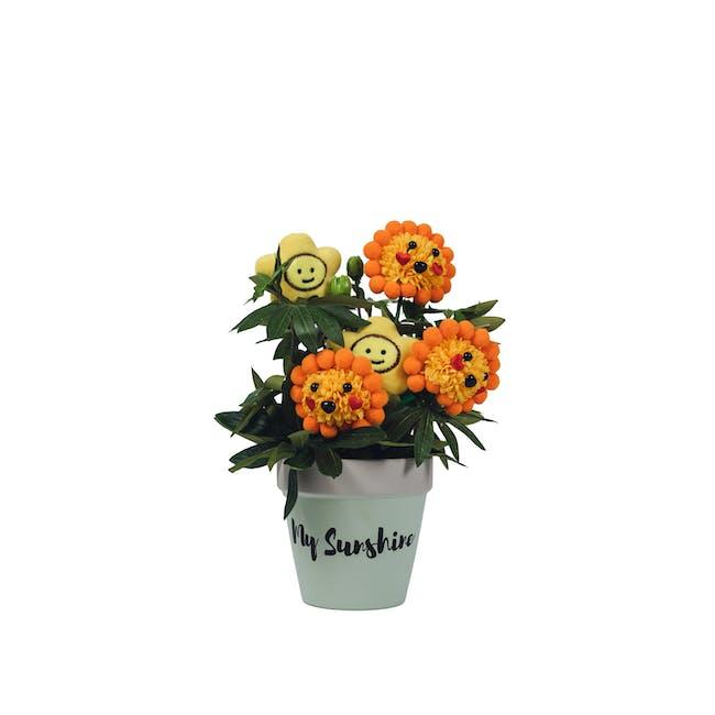 Soap Flower Pot - Sunshine Roar! - 0