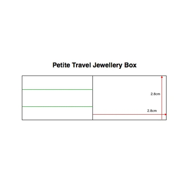 Stackers Petite Travel Jewellery Box - Taupe - 3