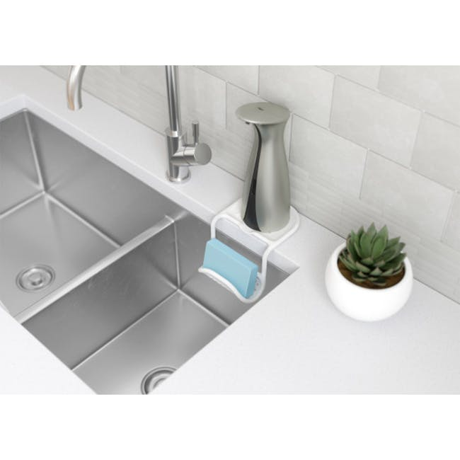 Sling Two-way Sink Caddy - White - 4