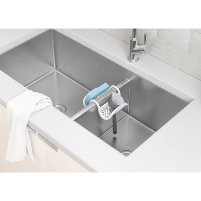 Sling Two-way Sink Caddy - White - 1