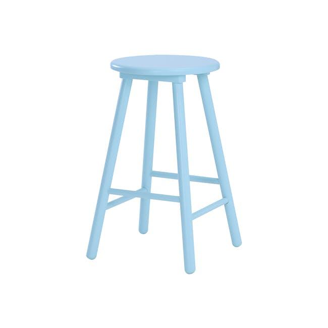 Olina Bar Stool - Light Blue - 0