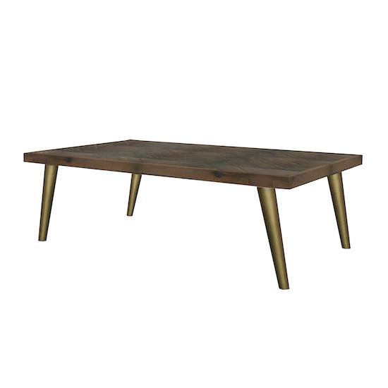 HipVan Bundles - Cadencia Coffee Table with Cadencia Side Table
