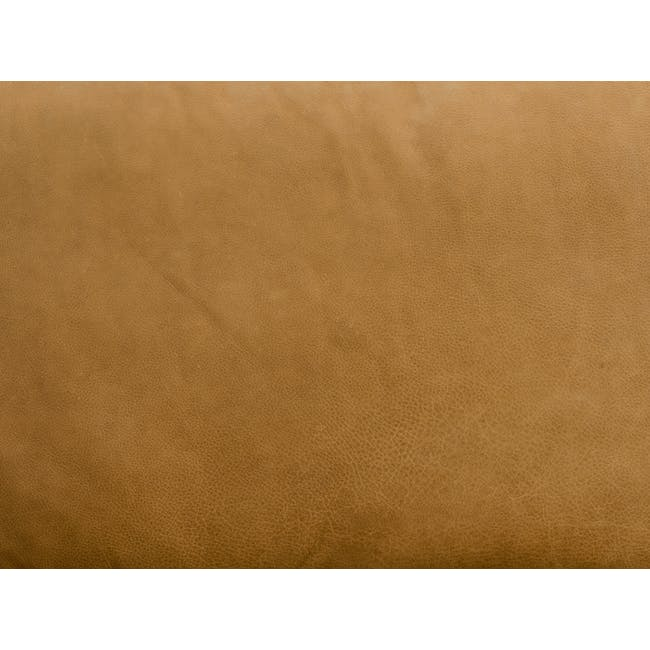 Truffle 3 Seater Sofa - Camel (Hand Tipped Leather) - 6
